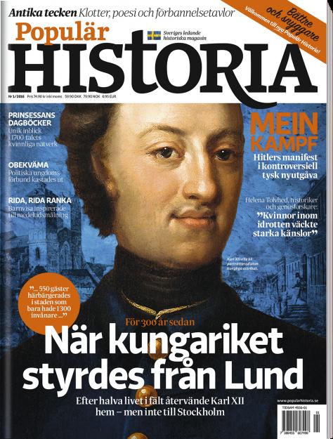 Ge ett presentkort till Populär Historia
