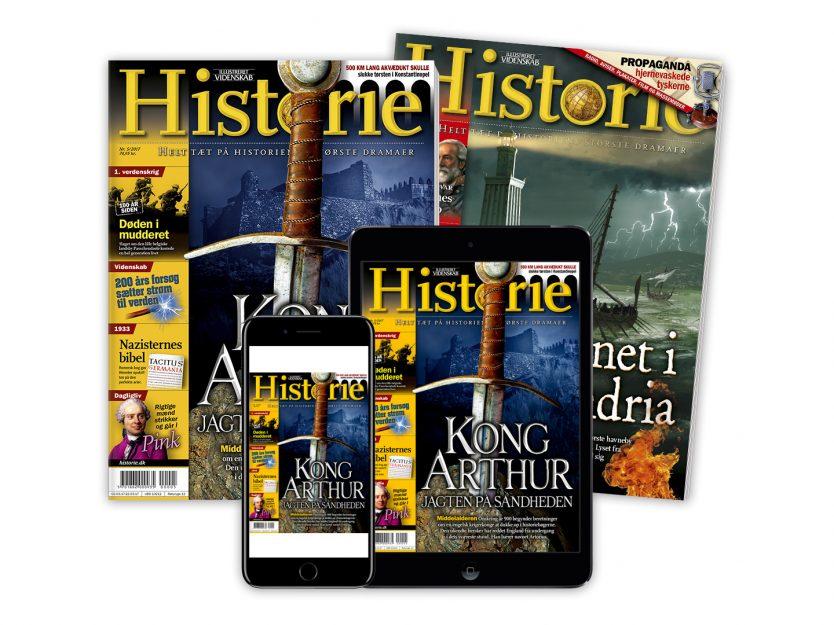 historie magasin abonnement
